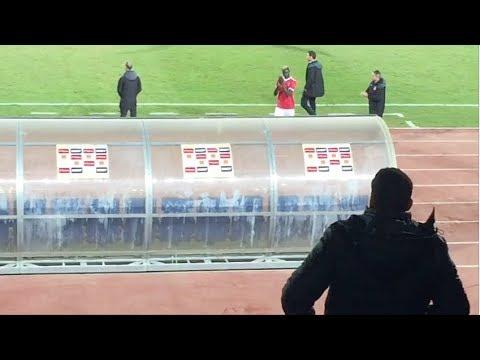 الظهور الأول لـ«بادجي» في مباراة الأهلي والنجم الساحلي باستاد السلام
