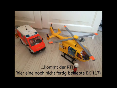 Playmobil Umbau von Drehleiter und RTW