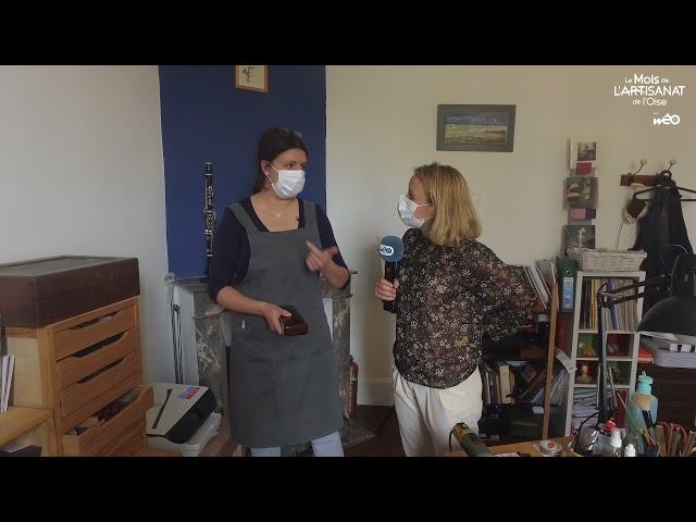 Mois de l'Artisanat de l'Oise : Noémie Stadler, restauratrice d'instruments à vent