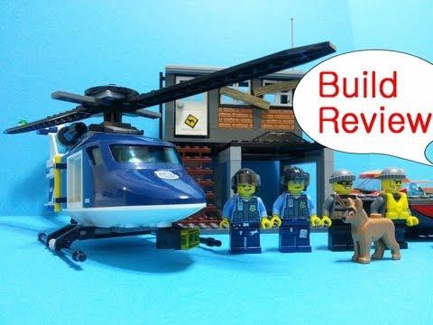 Vidéo LEGO City 60009 : L'intervention de l'hélicoptère