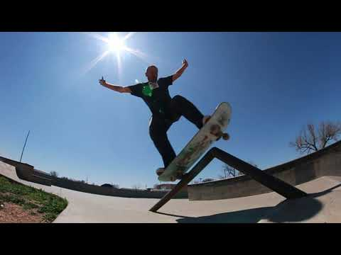 Tour and Session at Martin Road Amarillo TX Skateparak