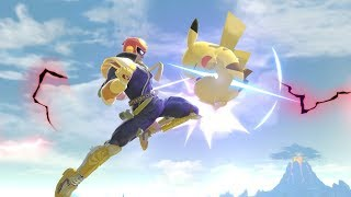 Most Hype Captain Falcon Combos/Plays in Smash Ultimate