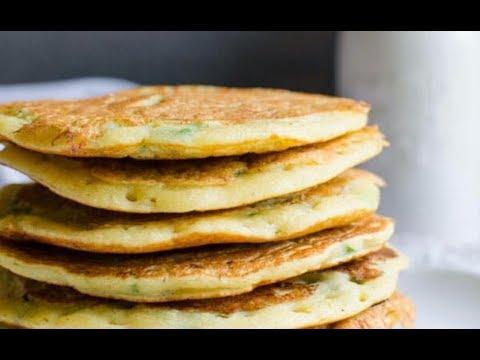 燕麦麸蛋饼:韩国街头小吃变身健康早餐,韩式豆渣燕麦饼,高纤饱腹感 | Oat Bran Egg Pastry