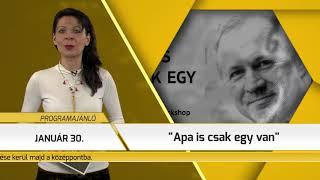 Programajánló / TV Szentendre / 2019.01.24.