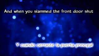 Daughtry - Over you (Ingles - Español)