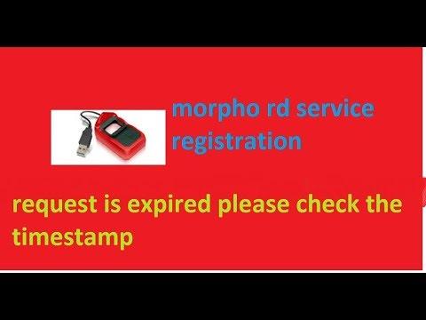 RD Service Installation Morpho MSO 1300//E1//E2//E3//EKYC2 0