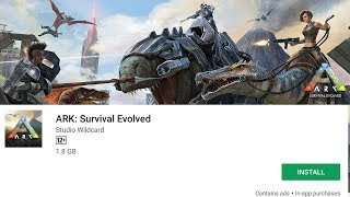 ARK SURVIVAL EVOLVED - ANDROID GAMEPLAY (ULTRA GRAPHICS)