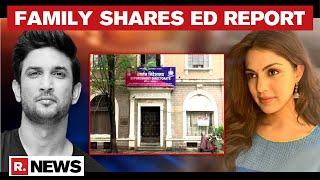 Sushant's Family Says 'ED Nailed Criminal Gang'; Note