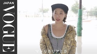 安藤サクラ/女優雨の中の撮影でも|VOGUEJAPANWomenoftheYear2016
