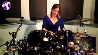 """""""Wipeout"""" Drum Cover   The Surfaris"""