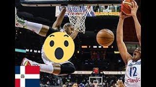 Selección Dominicana 2018 Impresionante Donqueo 😱 😵 🔥  (FIBA)
