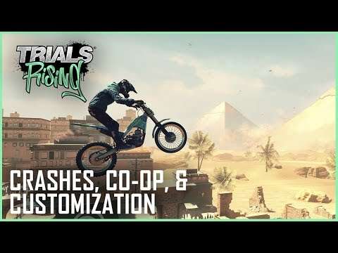 Trials Rising: Spectacular Crashes, Customization, and Tandem Co-Op | Interview | Ubisoft [NA] thumbnail
