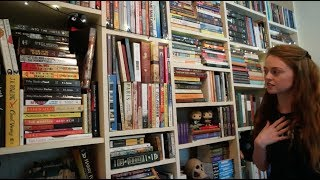 Home Library Tour Part 1