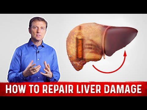 Video How to Repair Liver Damage after Alcohol