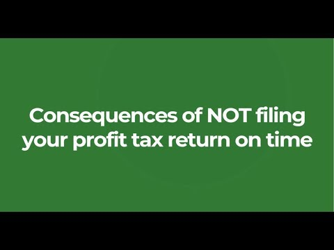 The consequences of NOT filing your profit tax return on time in Hong Kong