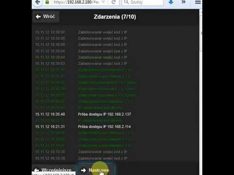 OptimaGSM i AP-IP - demo wbudowanego webserwera. - zdjęcie