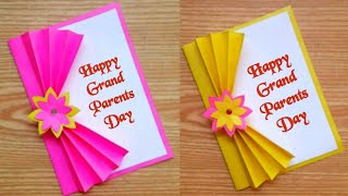 Grandparents day card making handmade/ Easy and beautiful card for grandparents day / Handmade Cards
