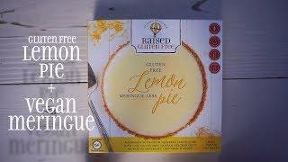Vegan Meringue + Gluten Free Lemon Pie