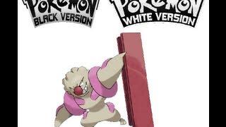 Timburr  - (Pokémon) - Pokemon Black/White - Timburr evolves into Gurdurr