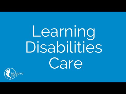 Learning Disabilities Support | Bluebird Care