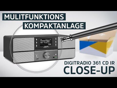 DAB+ Digitalradio/Internetradio mit CD und Bluetooth Funktion | DIGITRADIO 361 CD IR | TechniSat