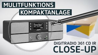 DAB+ Digitalradio/Internetradio Mit CD Und Bluetooth Funktion | DIGITRADIO 361 CD IR | TechniSat