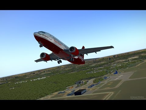 X-Plane 11 | IXEG 737-300 | Approaching Sharm El Sheikh - смотреть