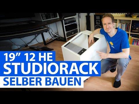 """19"""" Studio-Rack selber bauen (DIY Tutorial deutsch)"""