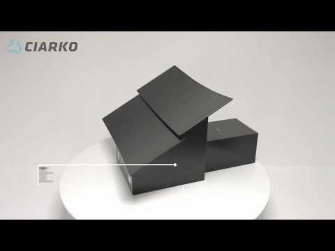 Вытяжка CIARKO Bella SCG 60 (черный)
