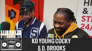 Kd Young Cocky & D Brooks Exclusive talk Squad Goals, Life Obstacles & More | iLLANOiZE Radio