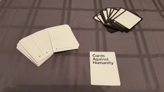 How to make your own custom Cards Against Humanity