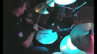 The Prodigy-breathe drummer video (Chkalov band cover)