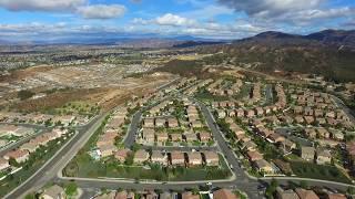 Scenic 360 Drone View of Temecula, Riverside County, California - DJI Phantom 3 Advanced