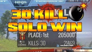 H1Z1 30 Kill Solo Win!