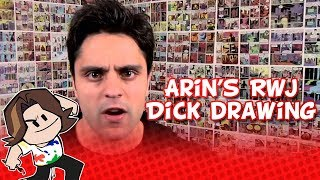 Game Grumps: Arin draws a dick on Ray William Johnson's set