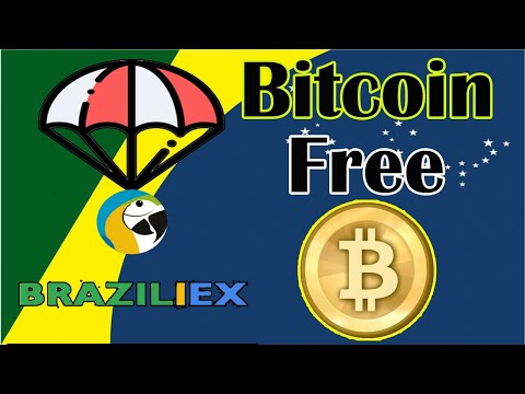 """🔴ESPECIAL🔴 Ganhe Bitcoins na Exchange Braziliex de """"Graça"""" 46Mil satoshi ao registrar-se! (20BRZX)"""