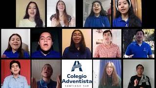 Interpretación musical del coro del Colegio Adventista Santiago Sur