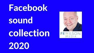Facebook sound collection 2020