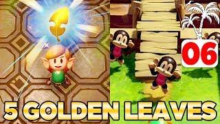 Richard's Golden Leaves & The Slime Key in Link's Awakening Switch - 100% Walkthrough 06