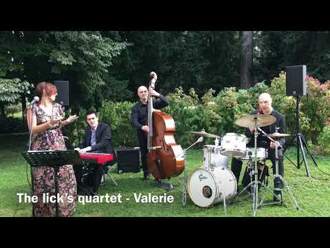 The Lick's Quartet Quartetto Jazz Con Voce Brescia Musiqua