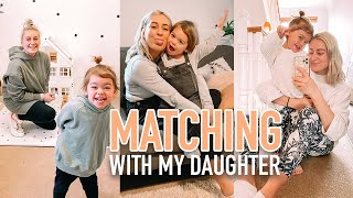 MATCHING OUTFITS WITH MY TODDLER FOR A WEEK! *so Cute*