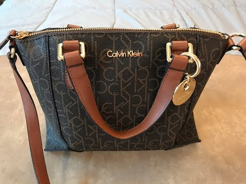 What's in my small Calvin Klein Signature Bag