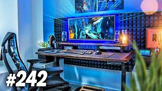 Room Tour Project 242 - Clean & Minimal Desk Setups!
