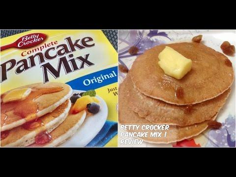 Betty Crocker Pancake Mix Review   Cooking with LA