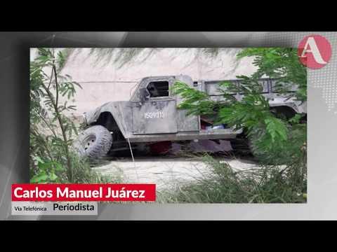 Asesinan en Tamaulipas a 122 militares que combatian al crimen organizado: Carlos Manuel Juarez