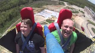 Slingshot Ride Russian and Teen Funny