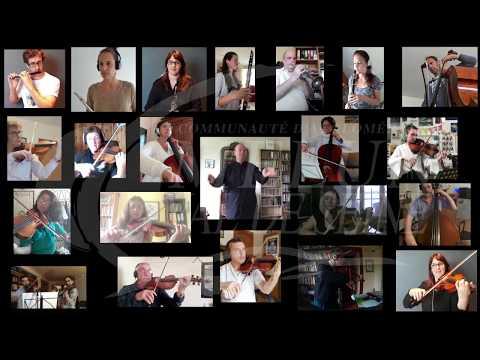 Pavane, par l'Orchestre Melun Val de Seine confiné...