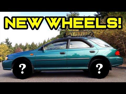 "Subaru Impreza ""Battlewagon"" Ep. 3: Off Roading & New Wheels!"