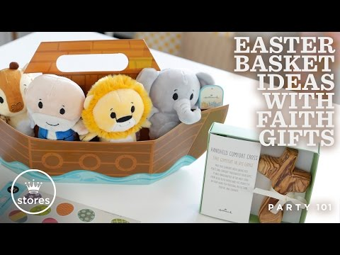 Easter basket ideas with faith gifts hallmark ideas inspiration negle Image collections