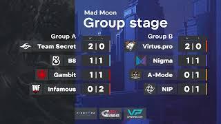 Team Secret vs Gambit Esports | WePlay! Dota2 Tug of War: Mad Moon